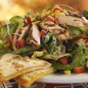 Chili's Quesadilla Explosion Salad courtesy eatclean.com