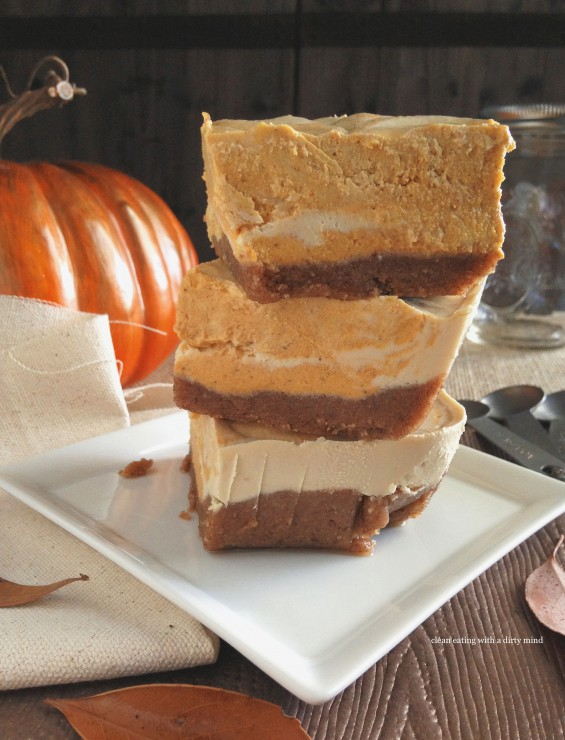 Paleo Pumpkin Swirl Cheesecake