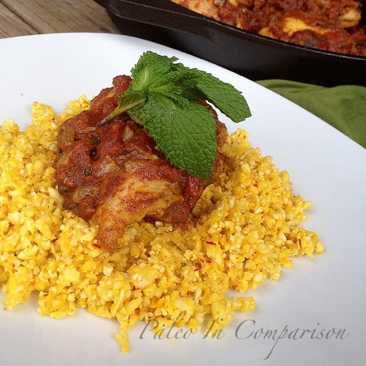 Paleo Classic Chicken Biryani