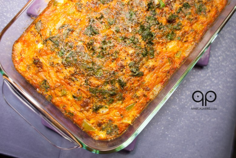 Paleo Tuna Broccoli Roll Up Casserole