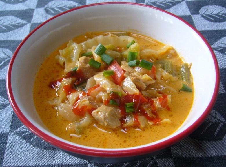Paleo A Crock of Curried Pork Soup