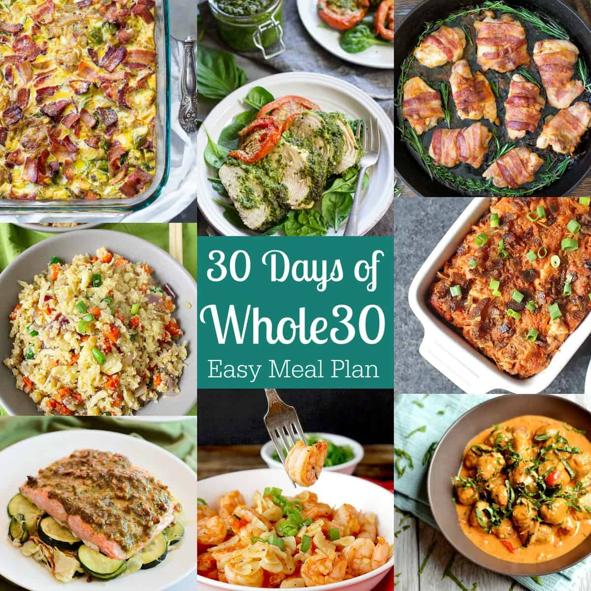30 Minuten Küche Easy Cooking 30 Days Of Whole30 Easy Meal Plan 43 Recipes Paleo