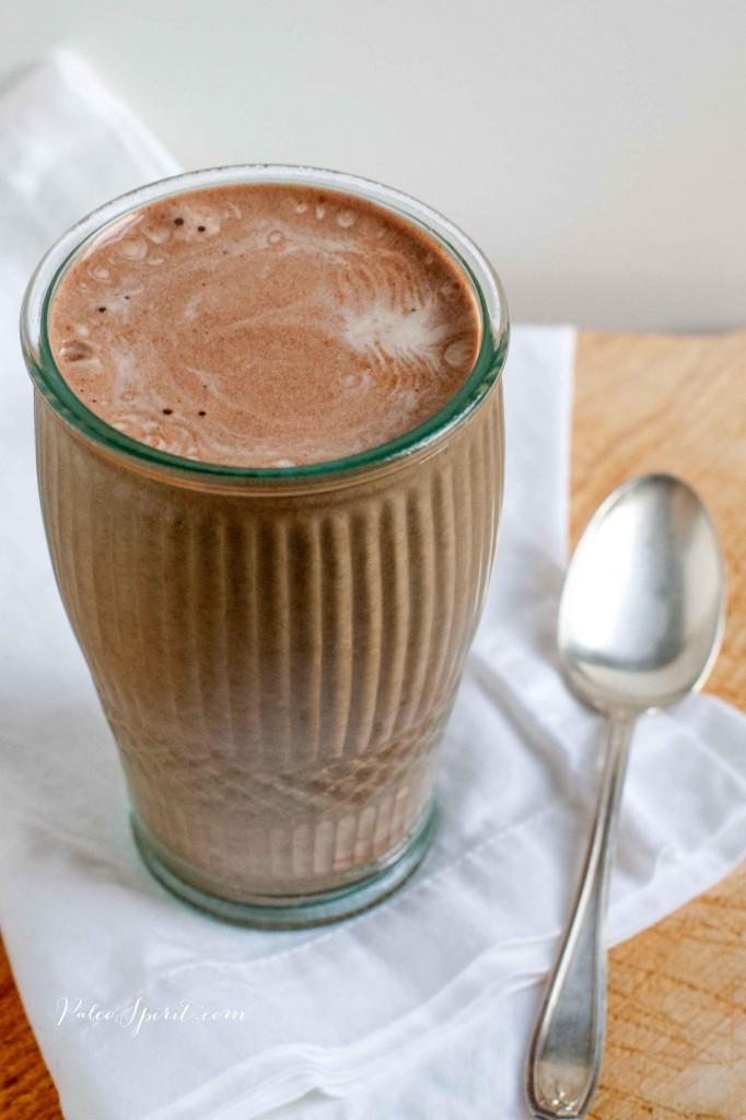 Paleo Chocolate Banana Latte Shake