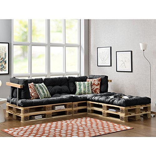 Amazon Möbel Couch Paletten-sofa - Indoor Sofa Mit Paletten-kissen