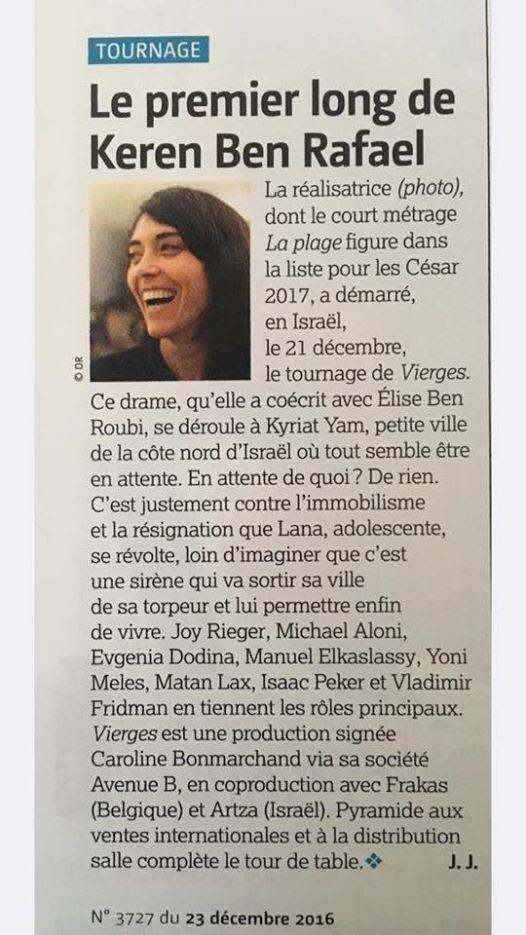 LE FILM FRANCAIS KEREN