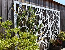 Treillages pour mur végétal