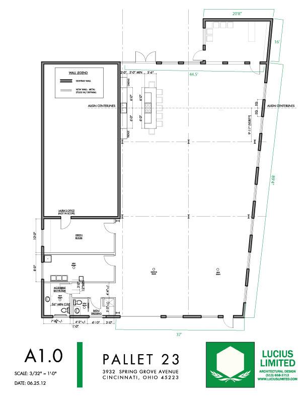 Pallet 23 Floor Plan