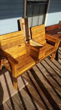 Pallet Chairs Bench | Pallet Furniture DIY