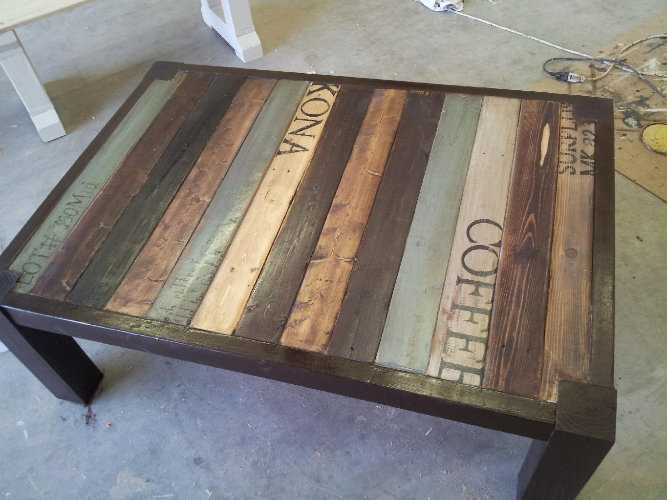 Table Painting Designs Pallet Coffee Table Gallery Pallet Furniture Online