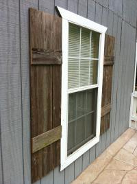 DIY Shutters for Interior or Exterior | Pallet Furniture Plans