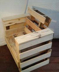 DIY Pallet Wood Chair | Pallet Furniture Plans