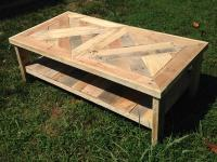 Raised Pallet Coffee Table