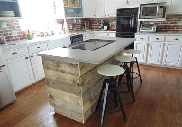 diy rustic pallet wall paneling pallet furniture plans pots special place kitchen diy kitchen