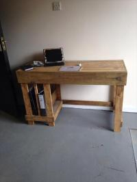 DIY Wood Pallet Office Computer Desk | Pallet Furniture Plans
