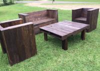 DIY Wood Pallet Patio Furniture Set | Pallet Furniture Plans