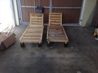 DIY Pallet Chaise Lounge Chairs | Pallet Furniture Plans