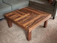 Pallet Wooden Coffee Table Design | Pallet Furniture Plans