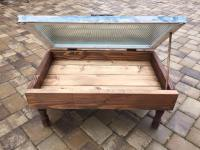 Pallet and Old Window Coffee Table | Pallet Furniture Plans