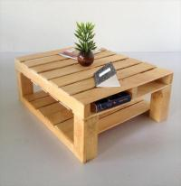 DIY Custom Built Pallet Coffee Table
