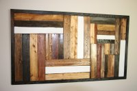 Recycled Pallet Wall Art | Pallet Furniture Plans