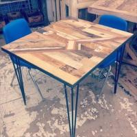 DIY Pallet Kitchen Table | Pallet Furniture Plans