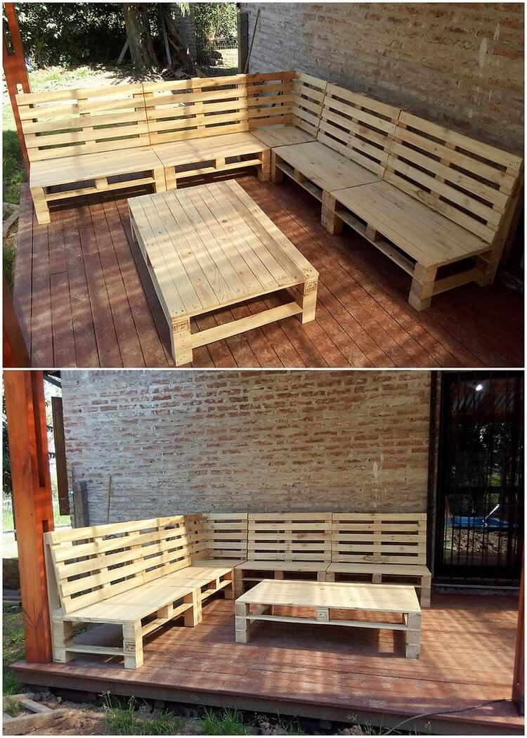 Diy Table With Pallets Easy And Clever Diy Projects With Used Wooden Pallets Pallet Wood