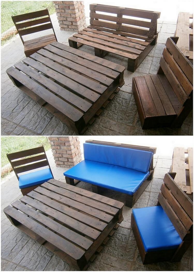 Sofa Set Garden Furniture Must Try These Wooden Pallet Ideas That Will Blow Your