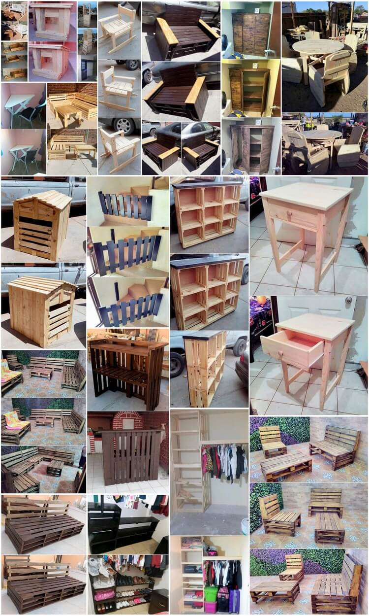 Amazing Ideas Made With Repurposed Wooden Pallets Pallet Wood Projects