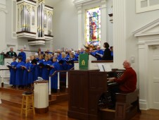 Choir and David
