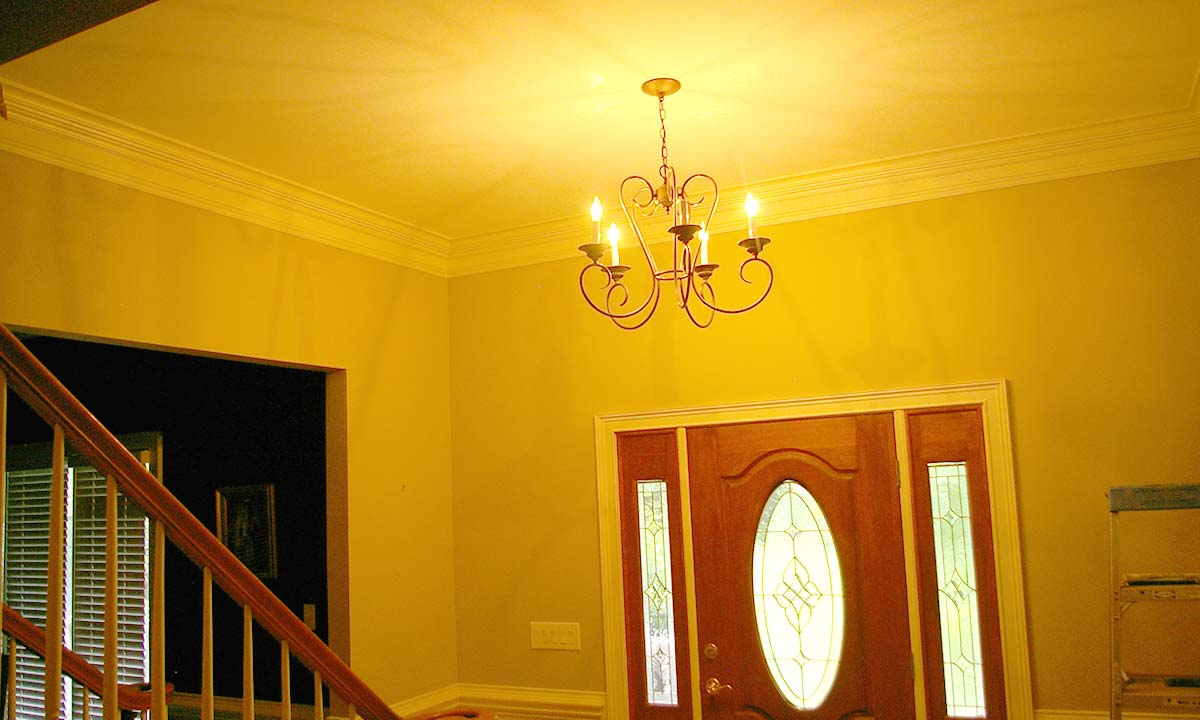 Charlotte Home Builders Two Story Foyer Conversion: How To Add Living Space To