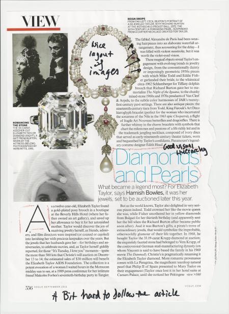 Vogue Article Layout