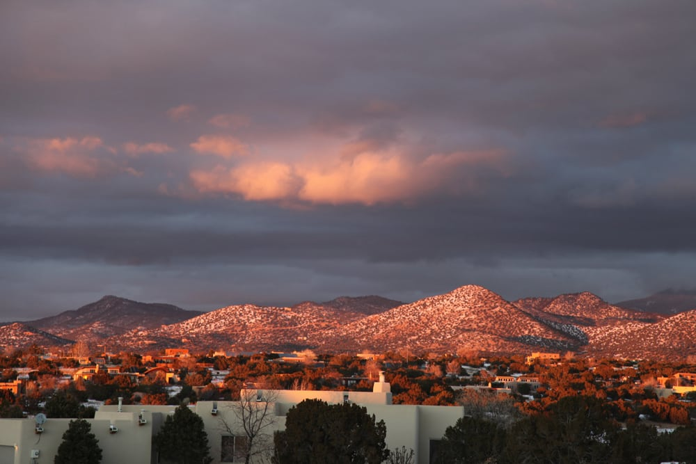 Wallpaper Fall Weather Santa Fe Chosen As One Of The World S Most Desirable