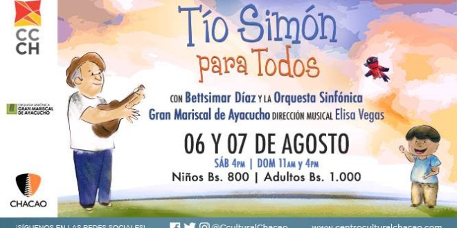Elisa Vegas rinde tributo a Tío Simón al frente de la Sinfónica Municipal