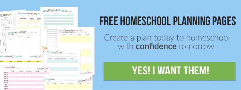 Six Homeschool Schedule Options Plan Your Year Part 3 - homeschool schedule template