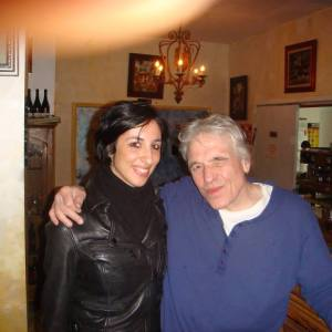 Pamela Quinzi with Movie Director Abel Ferrara