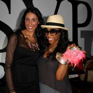Pamela Quinzi Celebrity Stylist June Ambrose at Kilame event in New York at RSVP