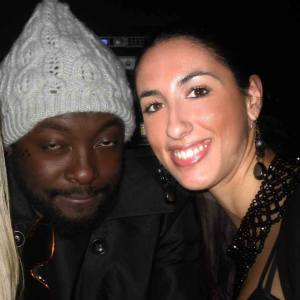 Pamela Quinzi and Will I Am - Black Eyed Peas New York, Juliet
