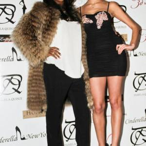 Pamela Quinzi Celebrity Stylist June Ambrose at Cinderellaofnewyork event in New York at Room Service, NYFW
