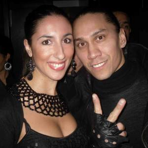 Pamela Quinzi and Taboo - Black Eyed Peas New York, Juliet