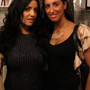 Pamela Quinzi with Ramona Rizzo from TV Show Mob Wise