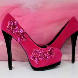 Pink Rock Pumps
