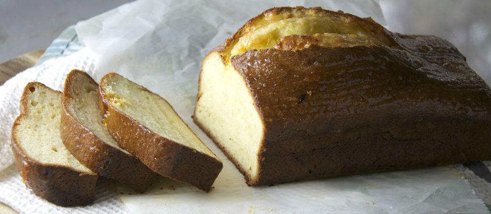 Lemon cardamon spice loaf