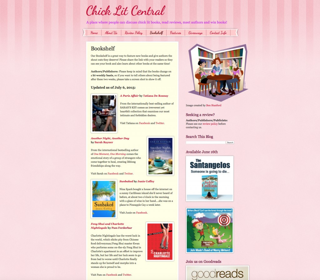 Feng Shui Lit Chick Lit Central Features Feng Shui + Charlotte