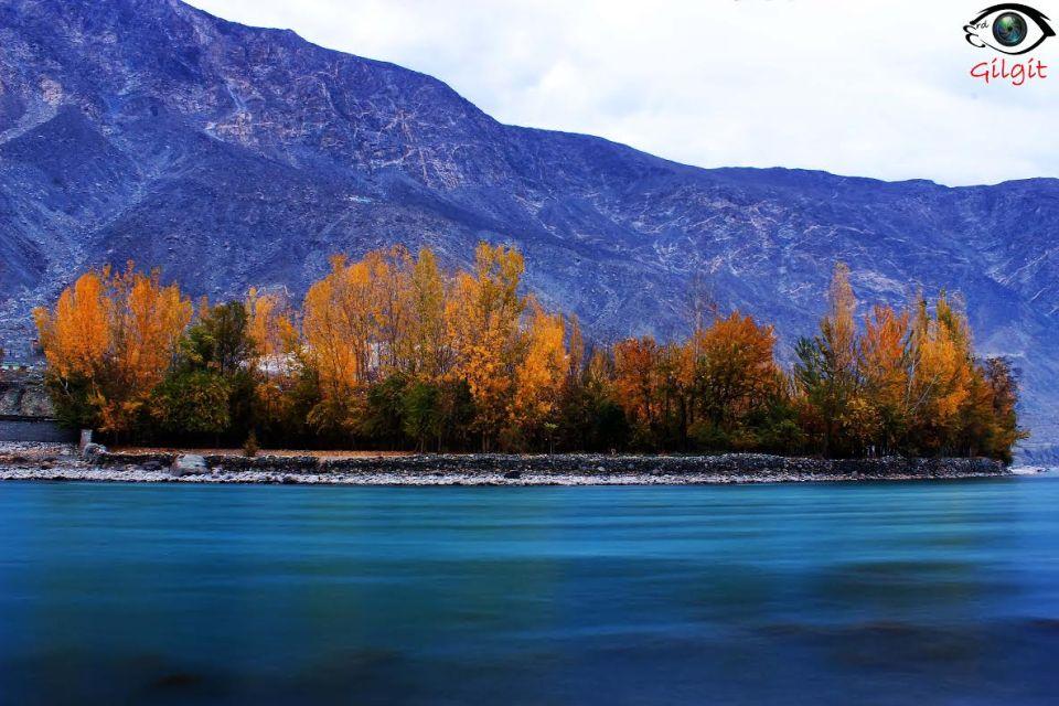 Autumn and Gilgit River