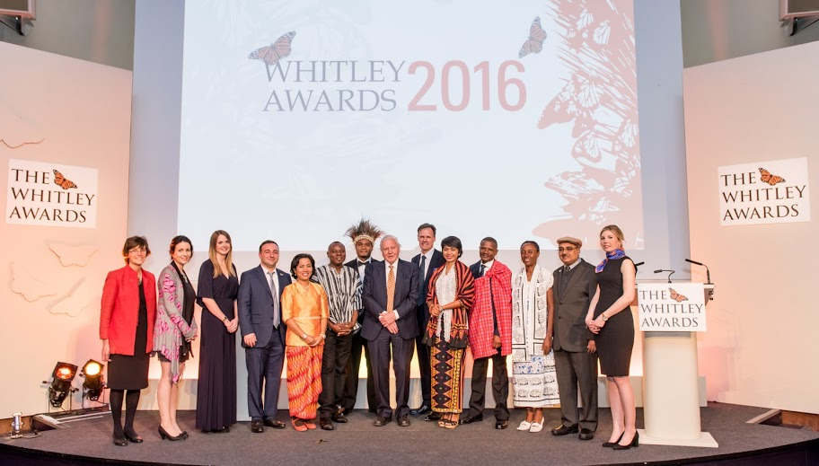 Group photograph of the Whitney Award 2016 winners