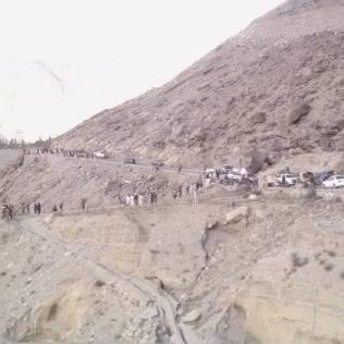 Skardu Accident site (2)