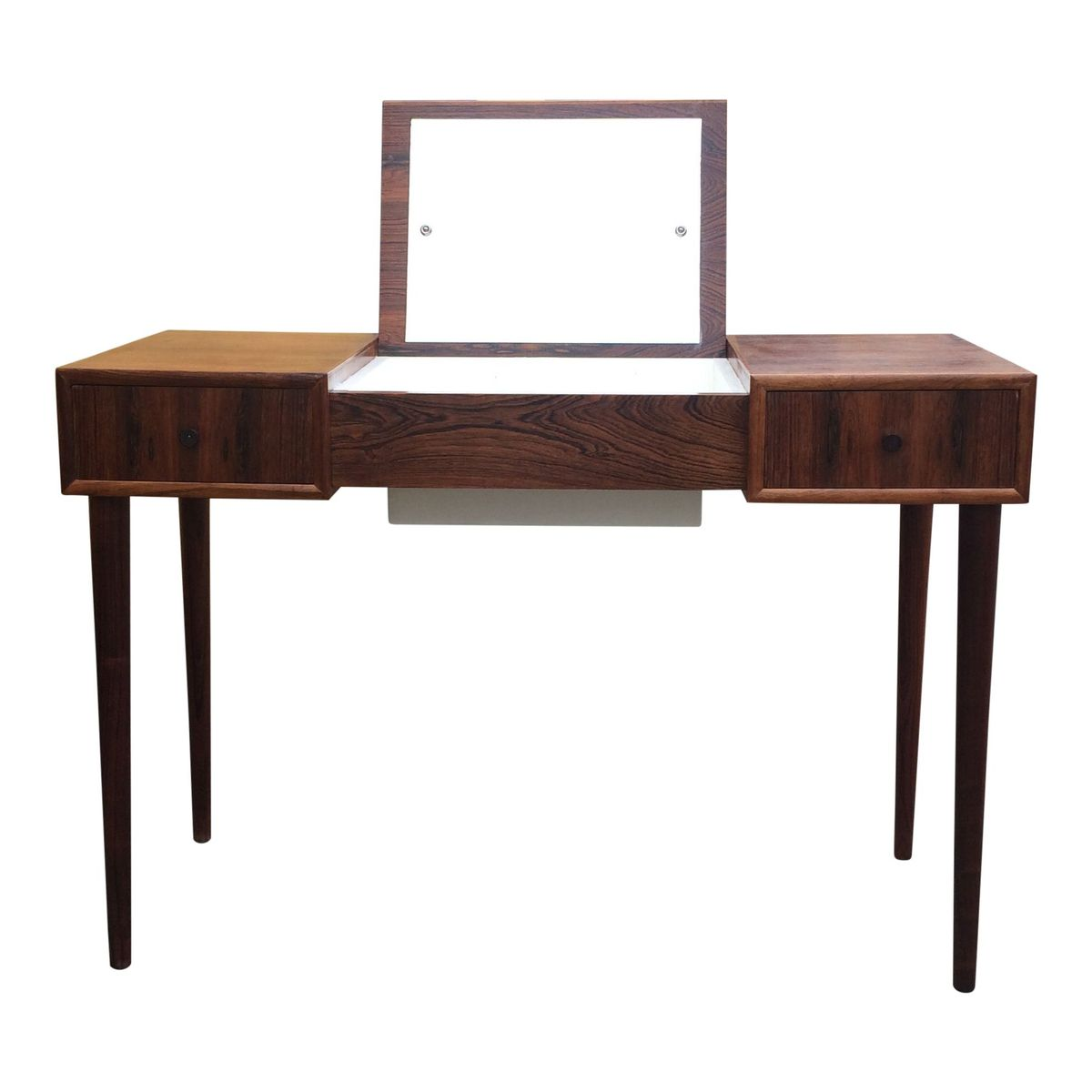 Cosmetic Table For Sale Vintage Danish Teak Makeup Table For Sale At Pamono