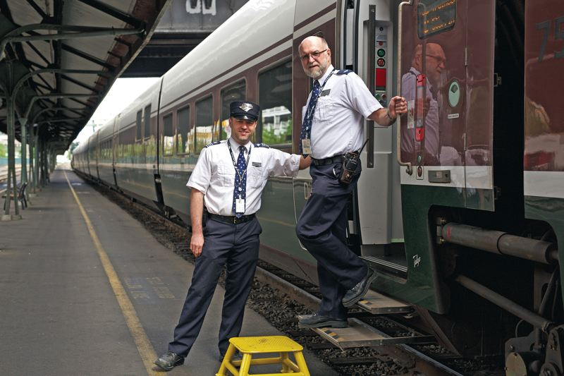 Pamplin Media Group - Family works on railroad for four generations - frieght conductor