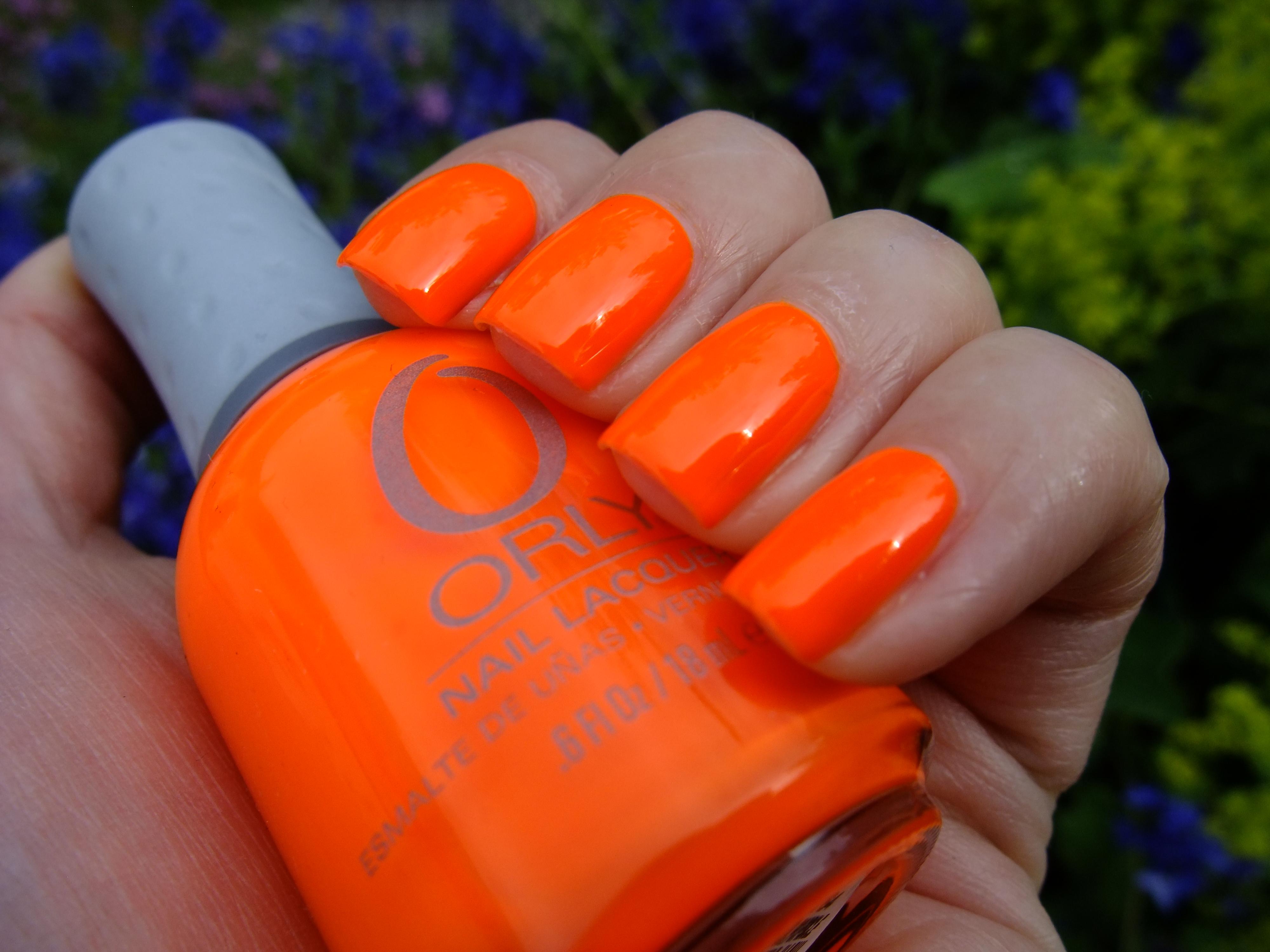 Orly Melt Your Popsicle Crazy Fluro Orange Neon Summer