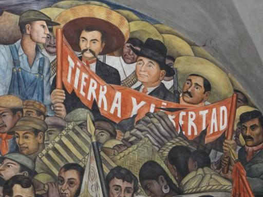 Diego-Rivera_Zapata-y-Pancho-Villa_Tierra-y-Libertad